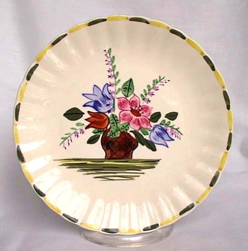 Blue Ridge plate & 103 best Blue Ridge Dinnerware! images on Pinterest | Blue ridge ...