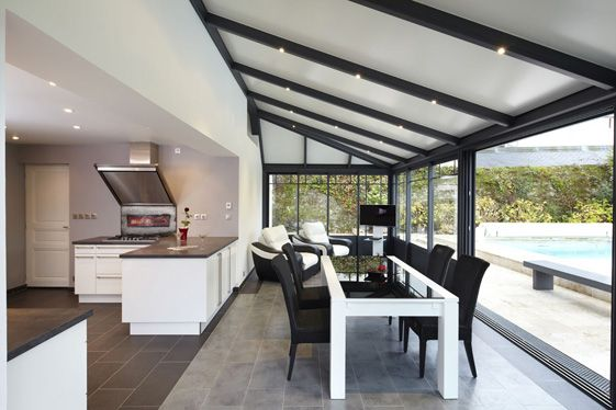 Veranda design extension recherche google deco for Extension cuisine veranda