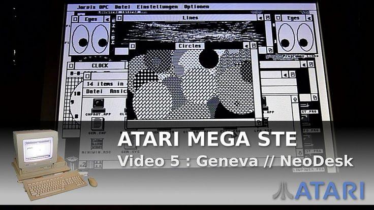 ArduinoPrX : Atari Mega STE (Geneva) (NeoDesk) (Multitasking)