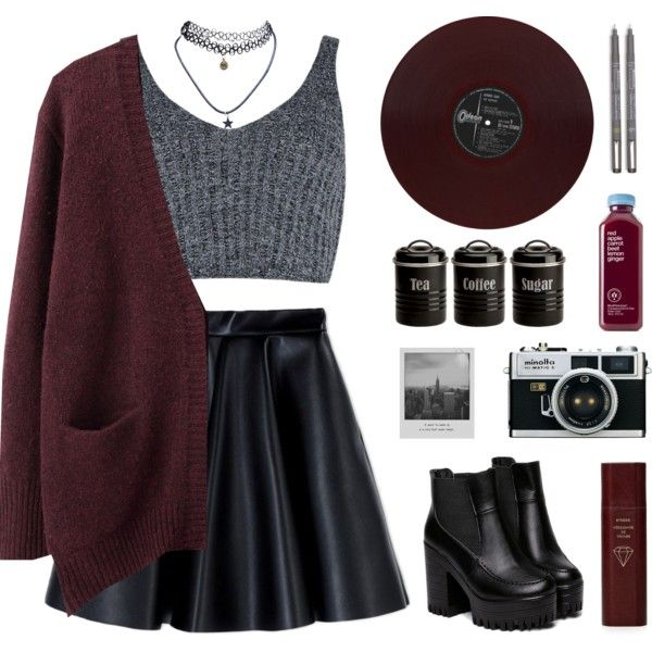 A fashion look from September 2015 by carechristine featuring Acne Studios, J.O.A., MSGM, Wet Seal, Typhoon, Byredo und Meggie