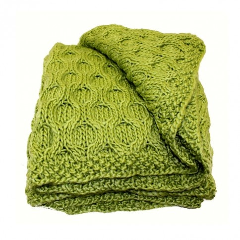 Betty Willow Throw Blanket - maybe in white or purple. Could so picture this on a comfy chaise lounge
