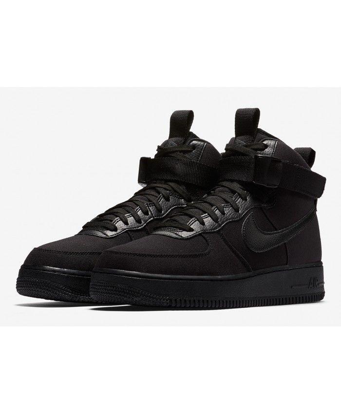 autorisation de sortie Nike Air Force 1 Élevée De La Maladie De Gomme Noire énorme surprise 9YuaXpmcp0