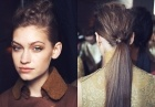 1960s ponytail hairstyle: low ponytail