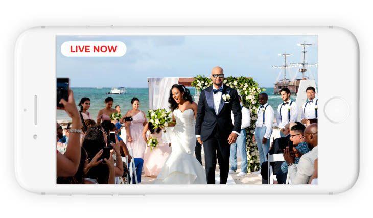Live Stream Your Wedding Virtual Wedding Test It Free In 2020 Wedding Videographer Wedding Wedding Video