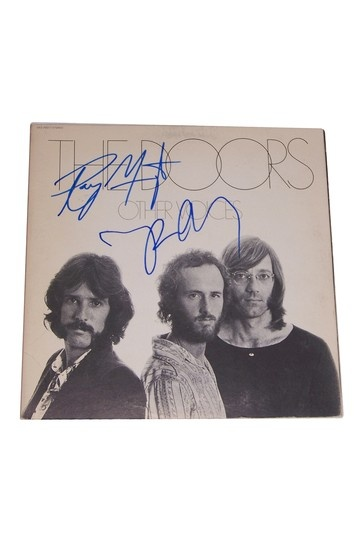 The Doors Ray Manzarek and Robbie K Other Voices Signed Album  by Autographed Celebrity Guitars on @HauteLook