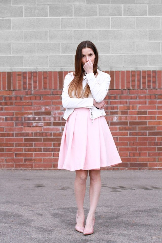 DIY wide pleat wrap skirt - CC