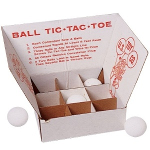 Tic Tac Toss Game