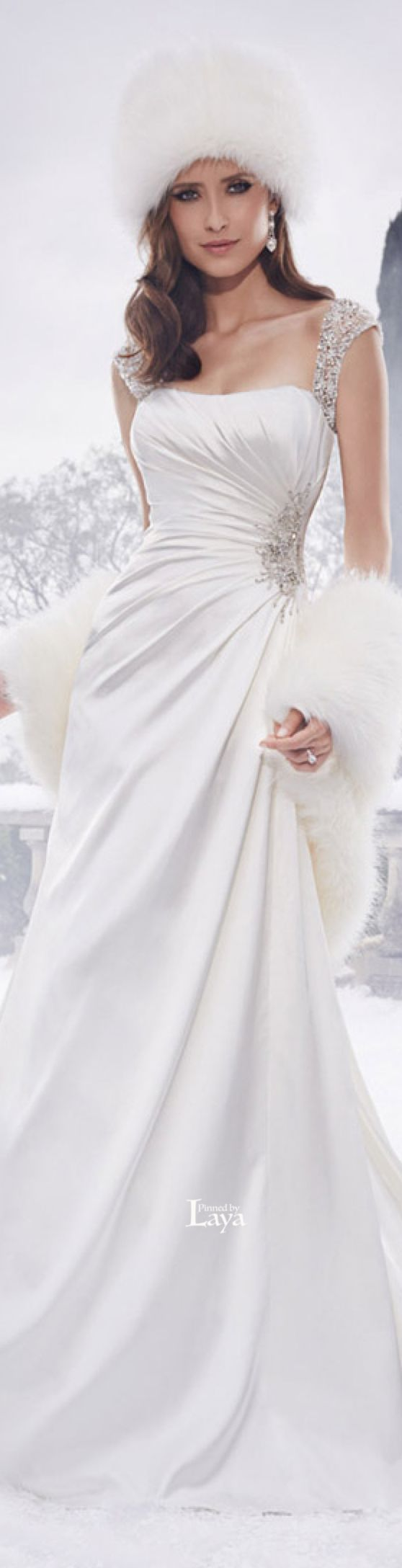Dress for wedding party in winter   best Weddings Winter images on Pinterest  Winter weddings