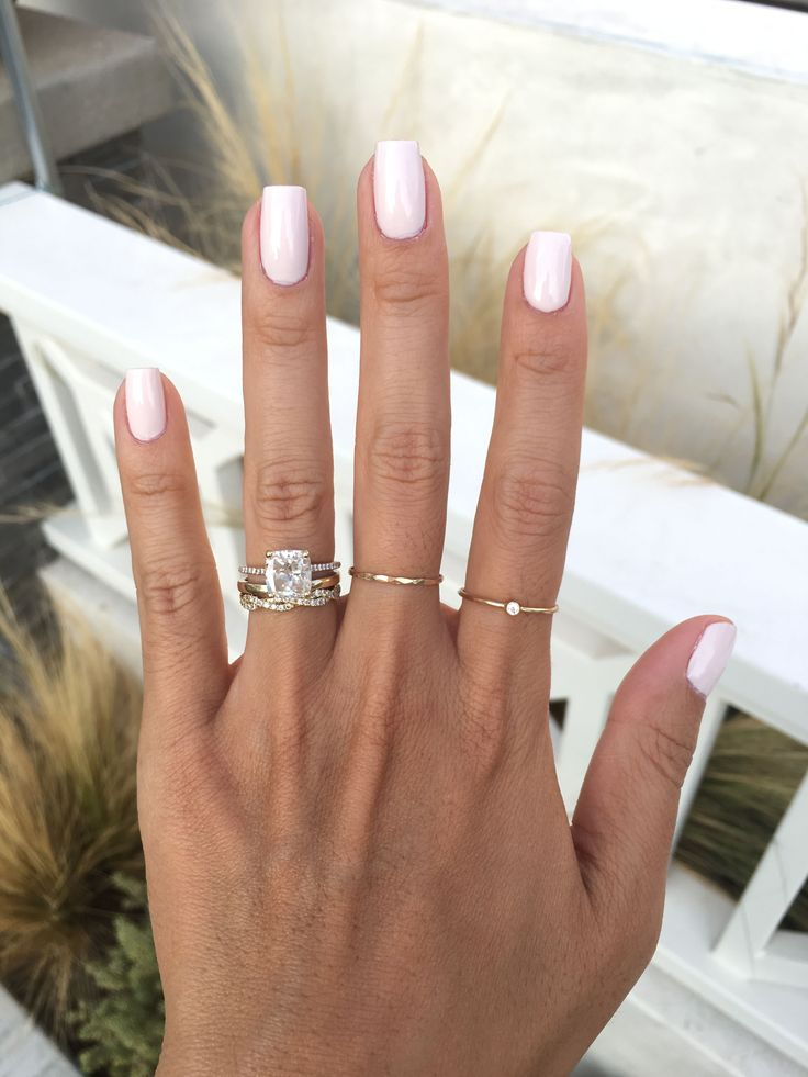 Nail Color Trends 2018: Best 25+ Blush Pink Nails Ideas On Pinterest