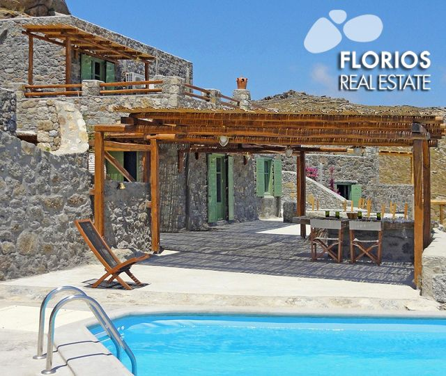 Bathed in the world-famous Cycladic light and cooled by the Aegean breeze, Mykonos Villas offer the ideal holiday location for all those wishing to enjoy everything that the island has to offer: intense nightlife, crystal clear waters and the luxury of a stylish retreat. FL1041 Villa for Sale on Mykonos island Greece. http://www.florios.gr/en/Villas-For-Sale-Mykonos-Island-Greece.html