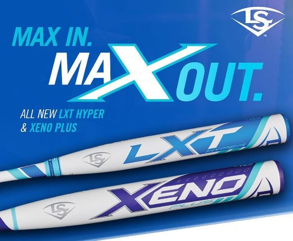 Max In. Max Out. Check out the 2017 Louisville Slugger LXT Hyper, the XENO Plus, and other Louisville Slugger Fastpitch softball bats at JustBats!