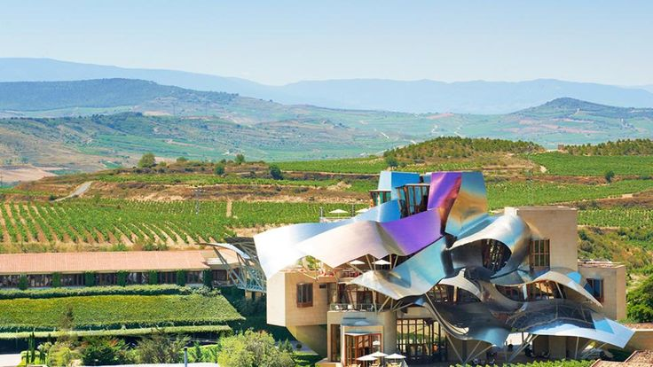 marques de riscal, hotel, city of wine, spain