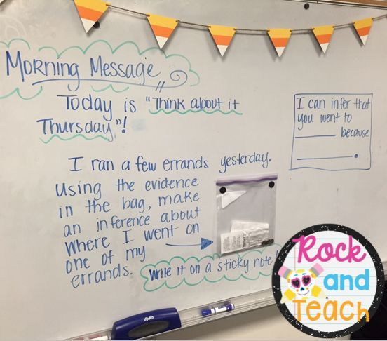 Thinking Deep with Inferencing - Love this inference activity - Deep Thinking Thursday. This post is a step-by-step guide for doing this with your students!