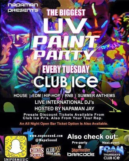 Ayia Napa Paint Party