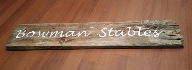 Barn board art