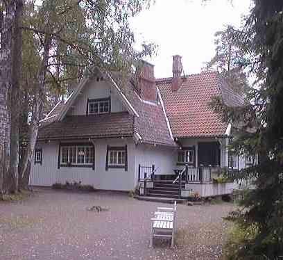 Ainola, Jean Sibeliuksen koti.
