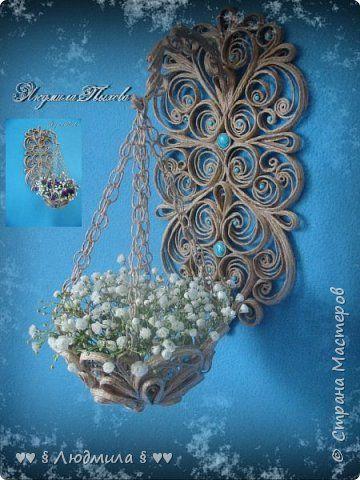 Еще одна кашпунька. Цветы свежие.Всех женщин поздравляю с праздником и дарю этот букетик! Здоровья дорогие, милые женщины, любви, удачи и мира!!! фото 1