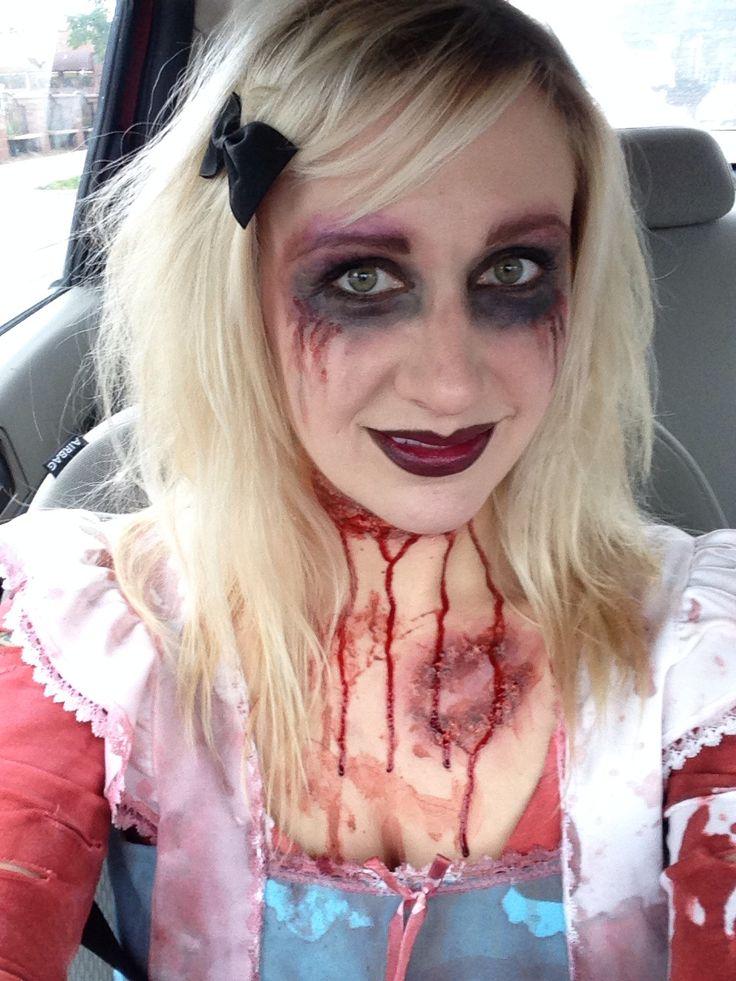 easy girl zombie makeup - photo #37