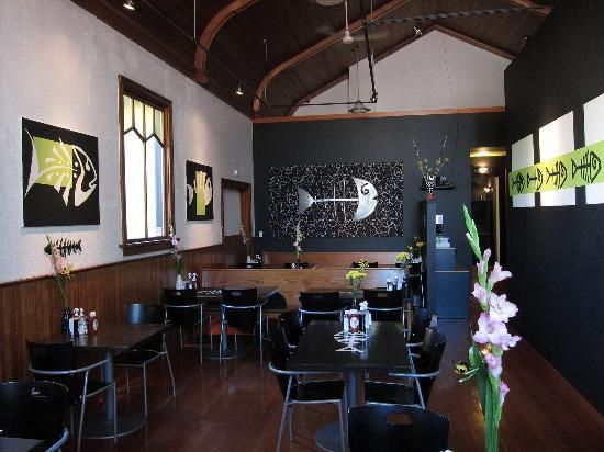 bare bones fish and chips port alberni, vancouver island...in an old church...great food...