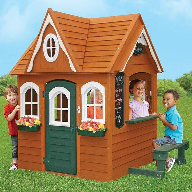 Big Backyard Timber Playhouse - Georgian | Target ...