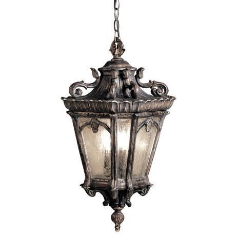 "Kichler Tournai Collection 25"" High Outdoor Hanging Light - #76257 | LampsPlus.com"