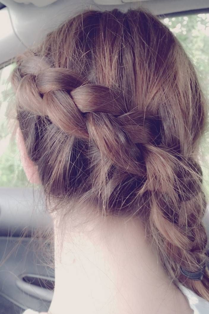 Side braid #hair #hairstyle #braid #braided hair #thebeautypoison #bohohair #bohemian