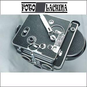 BOLEX H 16 REFLEX FAMOSA 16 mm DEL1950 OTTIMA !