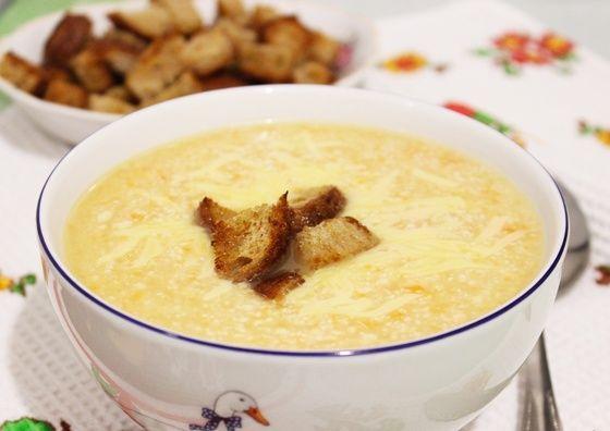 Куриный крем-суп
