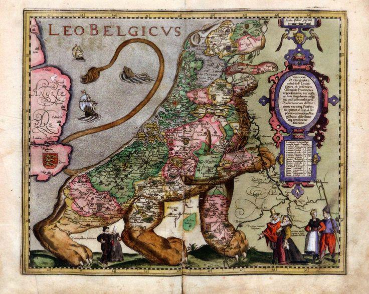 "renaissance-art: "" Hendrik Floris van Langren, early 17th century Leo Belgicus """