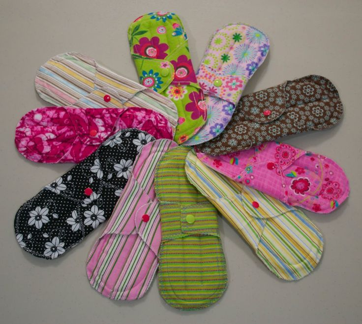 Diy Cloth Pads Tutorial: 1000+ Images About DIY:Pantyliner/Menstrual Pad On
