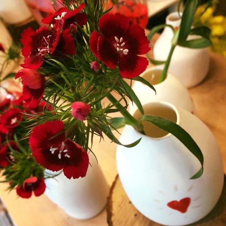 Anne Berthelot chez boutique Pompon / céramique porcelaine / handmade  / fait MAIN / St Valentin / valentine's Day / www.boutique-pompon.fr