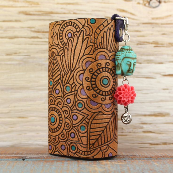 Henna Buddha Lotus Flower Leather Vaping Vape Sleeve Case Wrap for E-Cig Vaporizer by SillyNilly on Etsy https://www.etsy.com/listing/265472274/henna-buddha-lotus-flower-leather-vaping