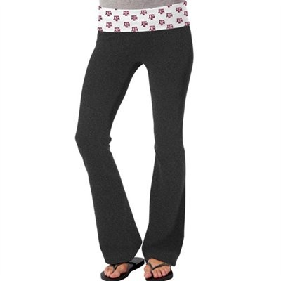 @Fanatics ® #FanaticsWishList  So Low Texas A Aggies Womens Ditsy Yoga Pants - Charcoal
