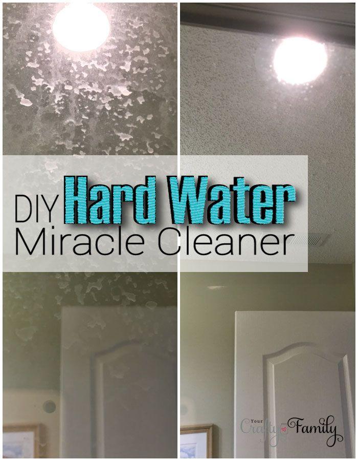 DIY Hard Water Cleaner