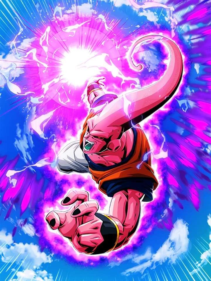Lr Majin Buu Ultimate Gohan Hd Dragon Ball Artwork Dragon Ball Art Anime Dragon Ball Super