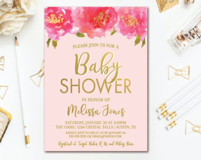 52 best BABY SHOWER INVITATIONS images on Pinterest Baby shower