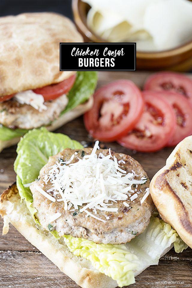 Chicken caesar salad, Caesar salad and Burgers on Pinterest