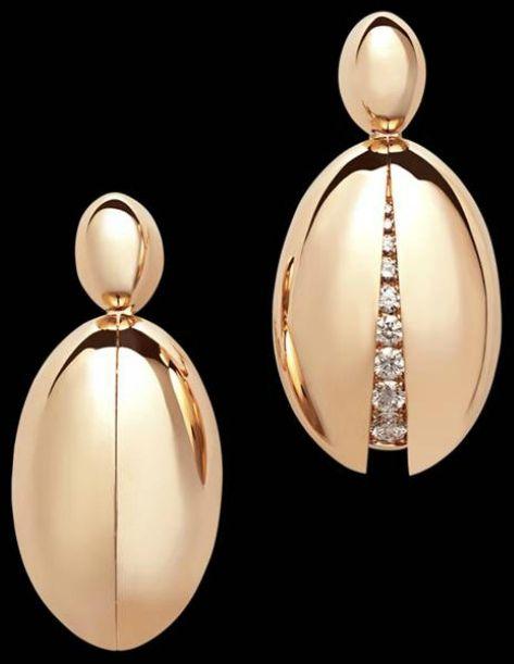 De GRISOGONO | Secret Diamond Earrings | {ʝυℓιє'ѕ đιåмσиđѕ&ρєåɾℓѕ}