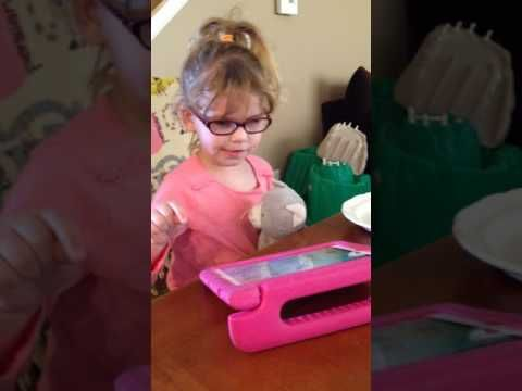 Beyond Requesting at snack age 4 part 1/2 - YouTube