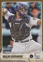 2015 Topps Baseball Gold /2015 #208 Wilin Rosario - Colorado Rockies
