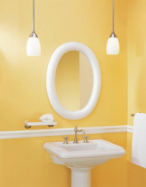 Illuminated Oval Bathroom Mirror