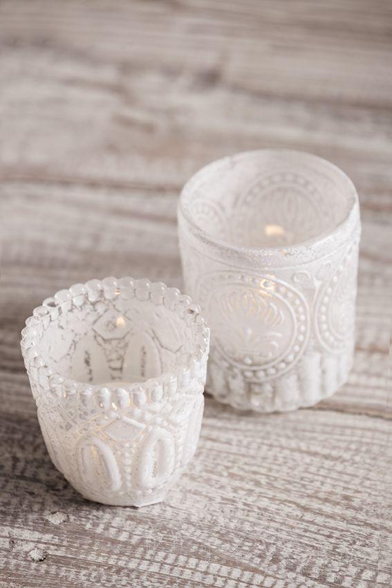 Cristal decorado para crear ambientes mágicos con la luz de las velas #muymucho #velas #tealights #cristal #deco #decoración #hogar #aromaterapia #iluminación #hygge #hogar