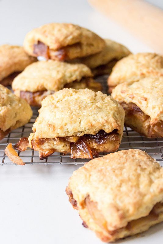 Apple Pie Biscuits - Sandra