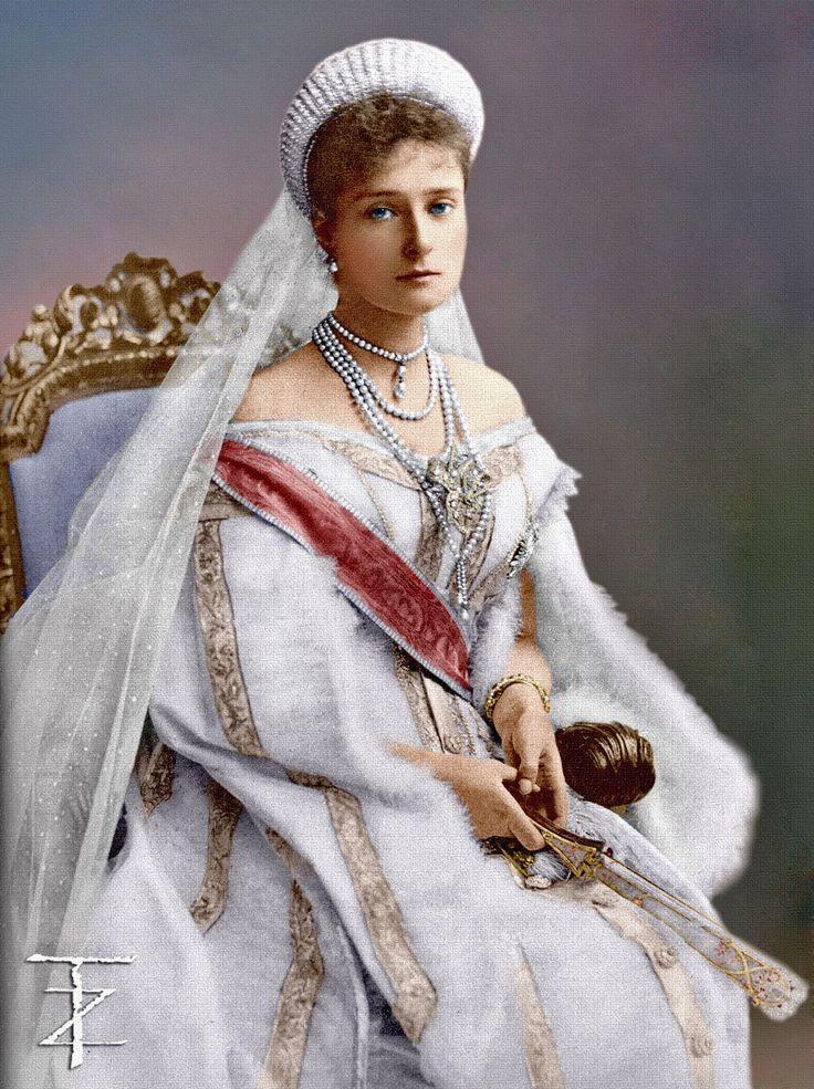 Empress Alexandra by tashusik on DeviantArt