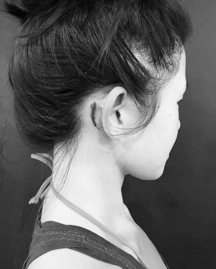 349 best images about tatouages tattoo on pinterest - Tatouage derriere oreille ...
