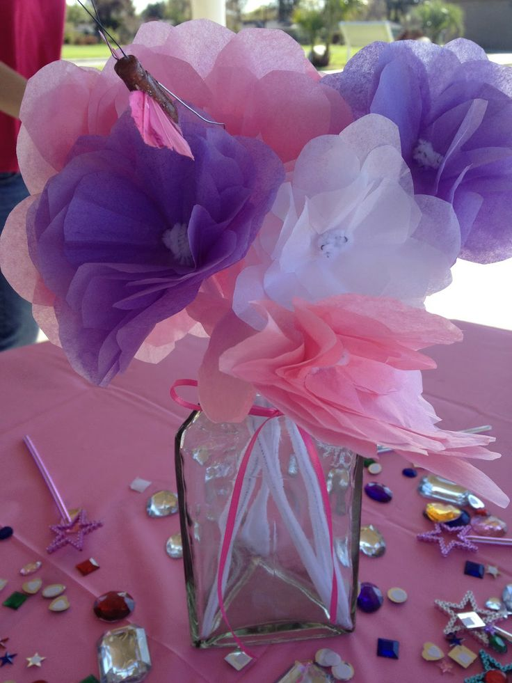 Tutorial Video for making tissue paper flowers (Whimsy Wees: February 2012)