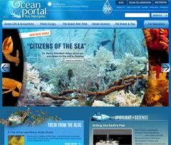 8 great science website for kids and tweens, including the Smithsonian's Ocean Portal