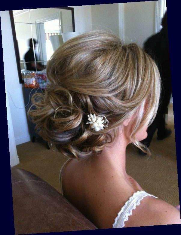 Brides With Fine Thin Hair Help Wedding Curls Fine Hair Hair Half Updo Help Straight Thin Hair U In 2020 Short Hair Updo Updos For Medium Length Hair Hair Styles