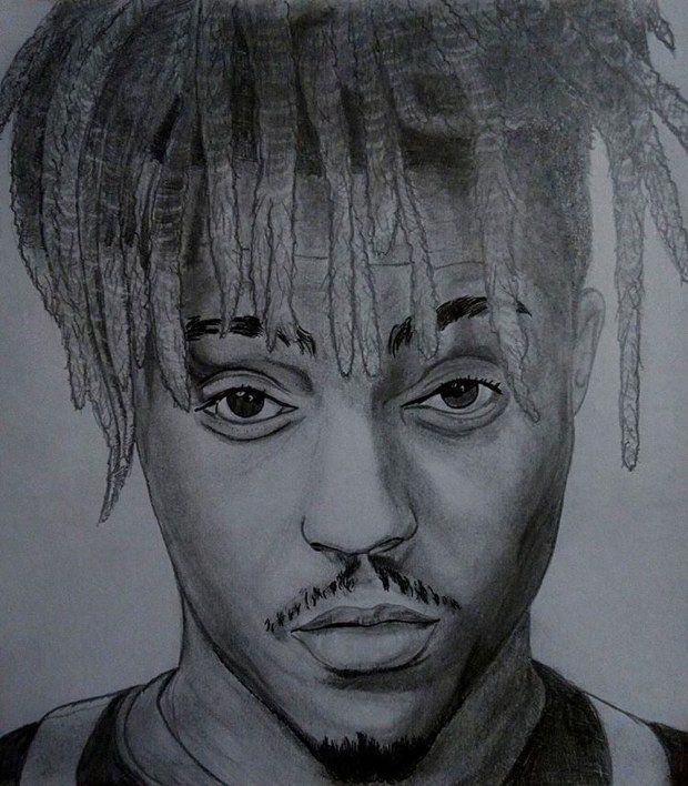 Download Mp3 Juice Wrld Mr Heartbreak Celebrity Artwork Rapper Art Spongebob Drawings