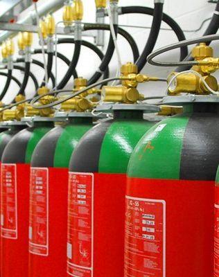 VDS onaylı IG-01 Argon gazlı yangın söndürme sistemleridir. ISO 14520, TS EN 14005 ve NFPA 2001 standartlarında uygun inert gazdır. Müzeler, arşivler, depolar ve kütüphaneler gibi korunan hacmin büyük olduğu tesislerde kullanılmaktadır. Uygulamadan sonra elektriksel olarak iletken olmayan, Toksit madde bırakmayan, uygulama sırasında görüş kaybına sebep olmayan ve insanlara zarar vermeyen Argon gazı, 300 bar...